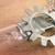 Steampunk clockwork  lightbulb necklace