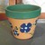 Hand-Painted Clay Pot