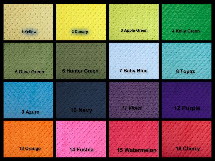 Minky Crib Sheet , Baby or Toddler Sheet