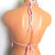 Crochet Blush Pink Hippie Halter Top by Vikni Designs