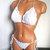 Vikni Designs White Bikini