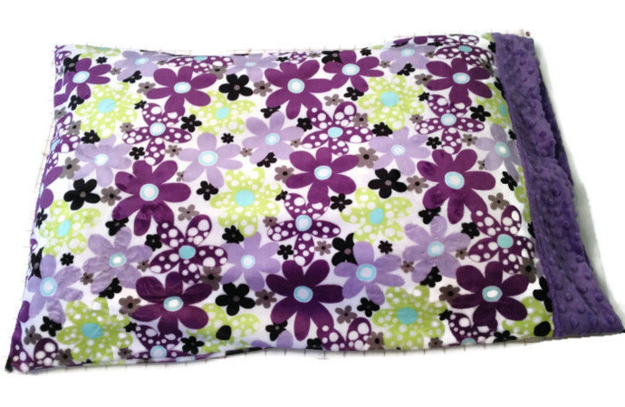 Minky Pillow Case Toddler Baby Adult Standard  20 x 26