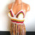 Autumn Festival Crochet Halter Top, Vikni Designs Top