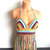 Vikni Festival Hippie Halter Top, Crazy Color Crochet Halter Top, Rainbow Halter
