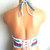 Vikni Designs American Flag Crop Top, Festival American Flag Crochet Top