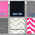 Pink Minky Crib Baby Blanket Grey Black Hearts  Hot Pink Minky Dot Back   Crib