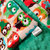 Owls Minky Blanket Couch Throw  Cream with Owls Kelly Green Minky Back  Adult