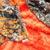 Camo Minky Blanket  Orange  Minky Blanket Adult Throw  Hunting Blanket  Minky