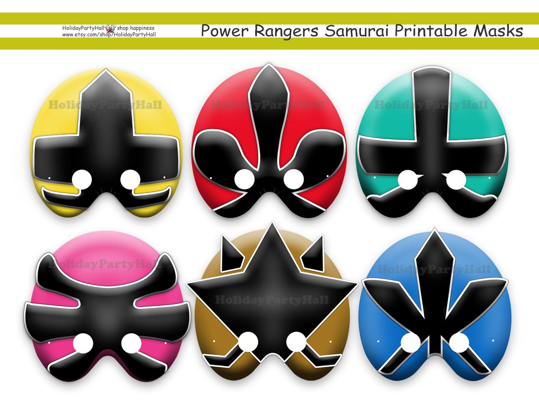 Unique Power Rangers Samurai Printable By Holidaypartystar On Zibbet