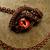 Custom - Gothic Steampunk - Necklace - GLOW Dragon Evil Eye - Red Fire Copper