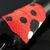 Wide bead loomed giant ladybug cuff -  Coccinellula