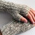 Mens wool fingerless gloves for hunting, biking or texting