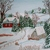 Winter Landscape Painting, original, fine art, realism, country western, rustic,