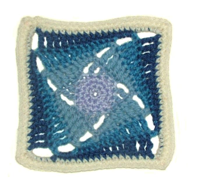 Rainbow Granny Square PDF Crochet Pattern Instant Download Pattern
