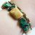 Handmade Earthy Green and Brown Double Strand Bracelet - Tan Picture Jasper,