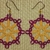 Wine and Gold Bead Tatted Earrings