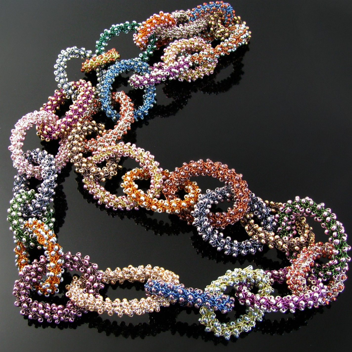 wire ww for necklace wrapping bead day beginners tutorial with beaded