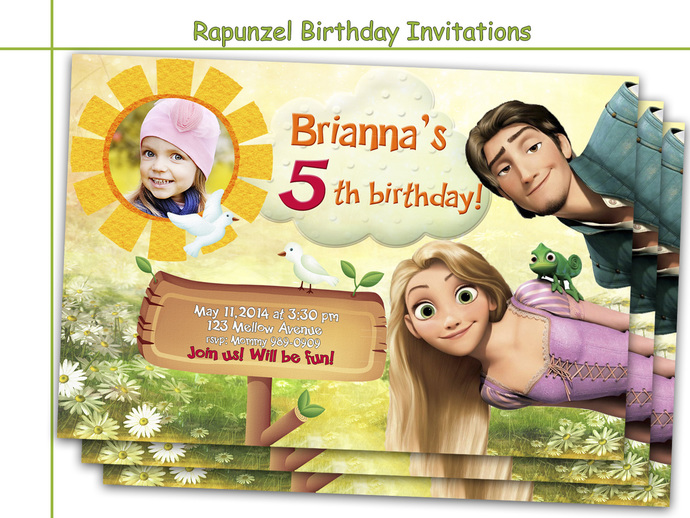 Amazing rapunzel birthday invitations by holidaypartystar on zibbet amazing rapunzel birthday invitations party personalized invite princess filmwisefo