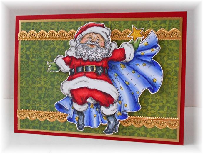 2012 Starry Night Santa
