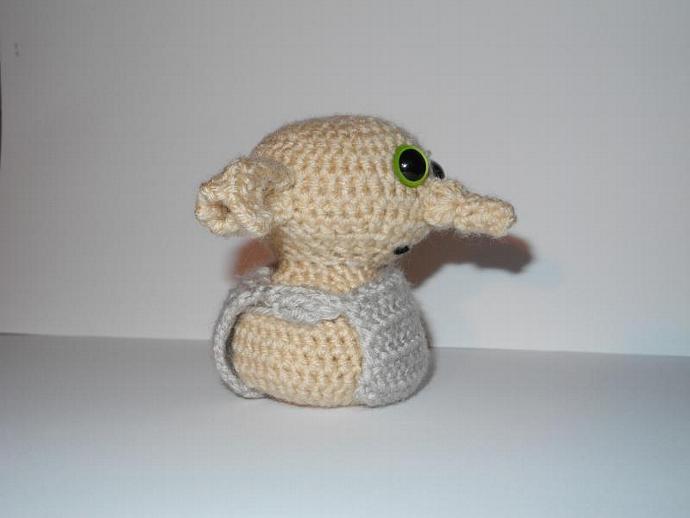 Amigurumi Dobby the House Elf
