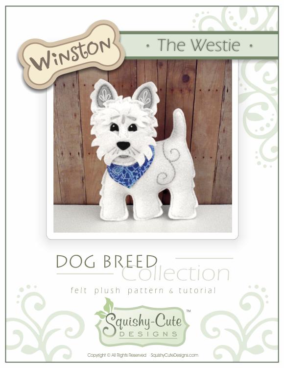 Westie Dog Sewing Pattern Pdf West Squishycutedesigns