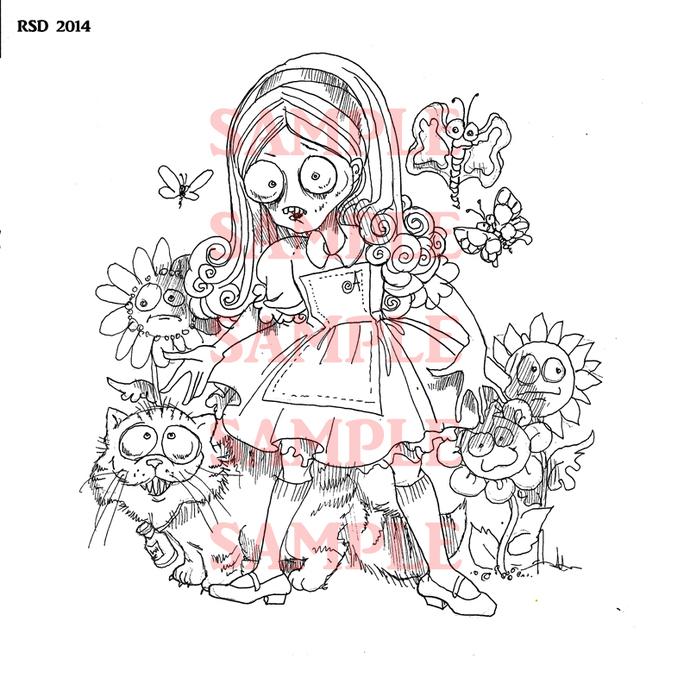 Alice Revisited digi stamp