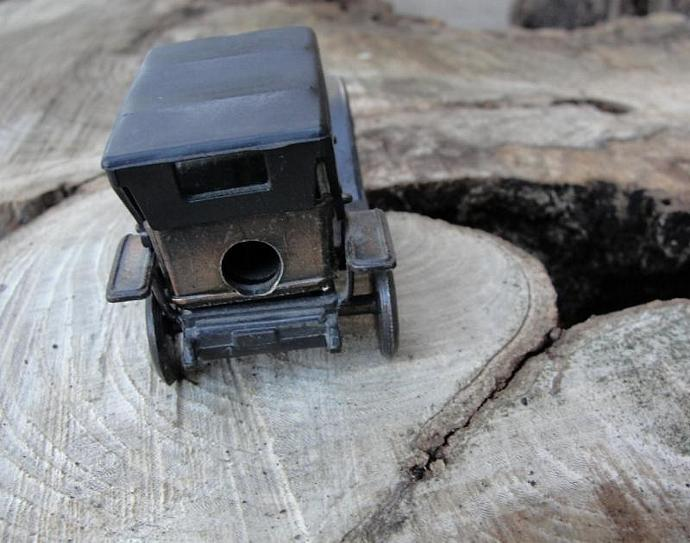 Vintage Brass Simplex Auto Pencil Sharpener