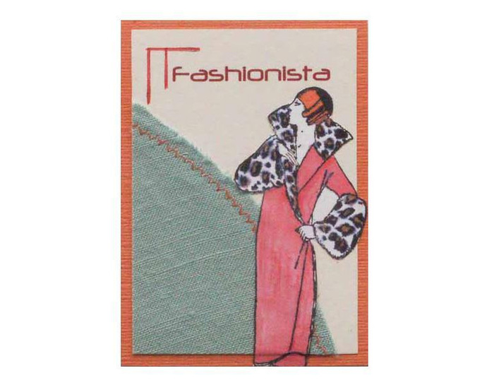 Fashionista Art Card