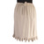 Ruffle Skirt  Calf Length in Tan, Size Medium