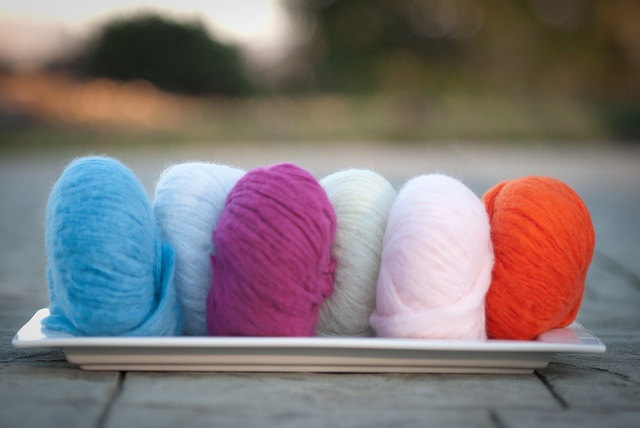 Diamond Fibers Cashmere Cloud Yarn - Powder