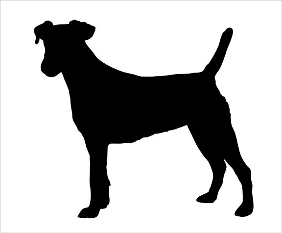 Jack Russell Dog Wall Sticker WS-17583