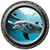 Happy Dolphin Porthole Wall Decal