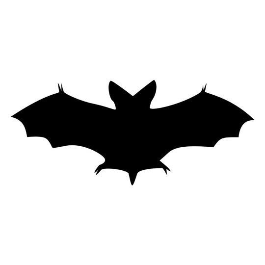 Simple Halloween Bat Vinyl Decal