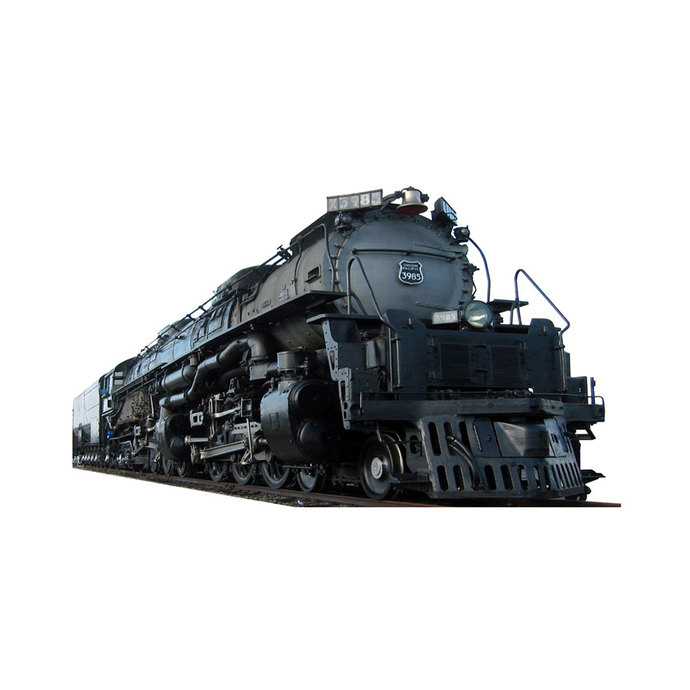 """Union Pacific Train 3985 Large Wall Decal - 25.5"""" tall x 43"""" wide"""