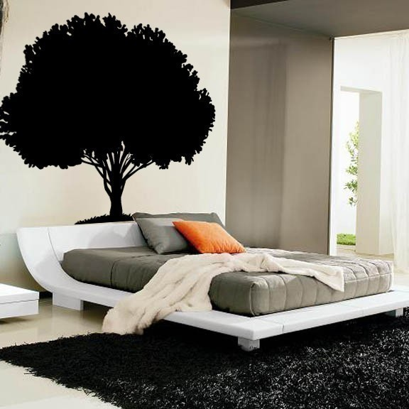 enormous 80 inch tall tree wall decal