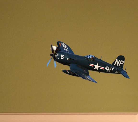 Navy F4U Corsair WW2 Fighter Decal