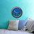 She Swims Mermaid Porthole Wall Decal