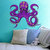 "Octopus Wall Decal - 23"" tall x 28"" wide"