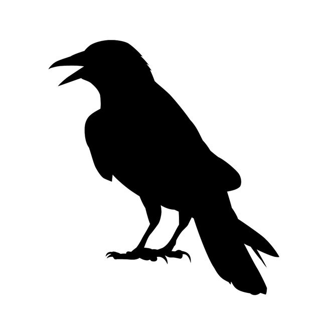 The Raven Wall Decal