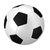 "Soccer Ball Wall Decal - 15"" tall x 15"" wide"