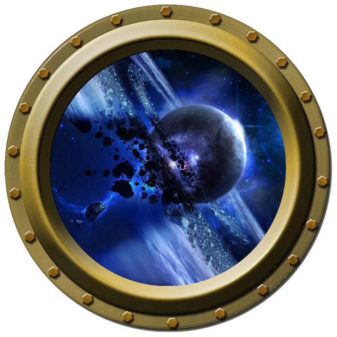 The Stone Rings of Thanatos Porthole Decal