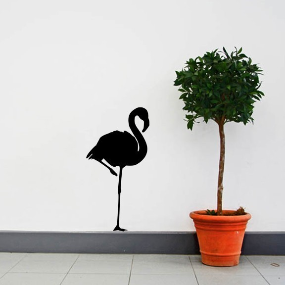 flamingo vinyl wall decal