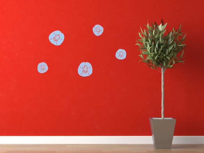 Sand Dollar Collection - Decal Set