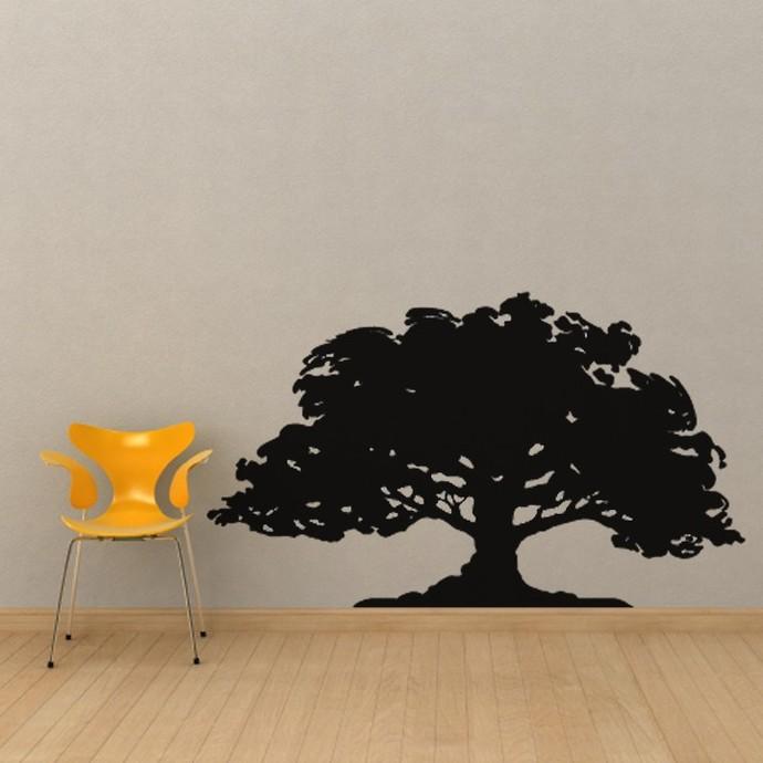 Huge Oak Tree Vinyl Wall Decal