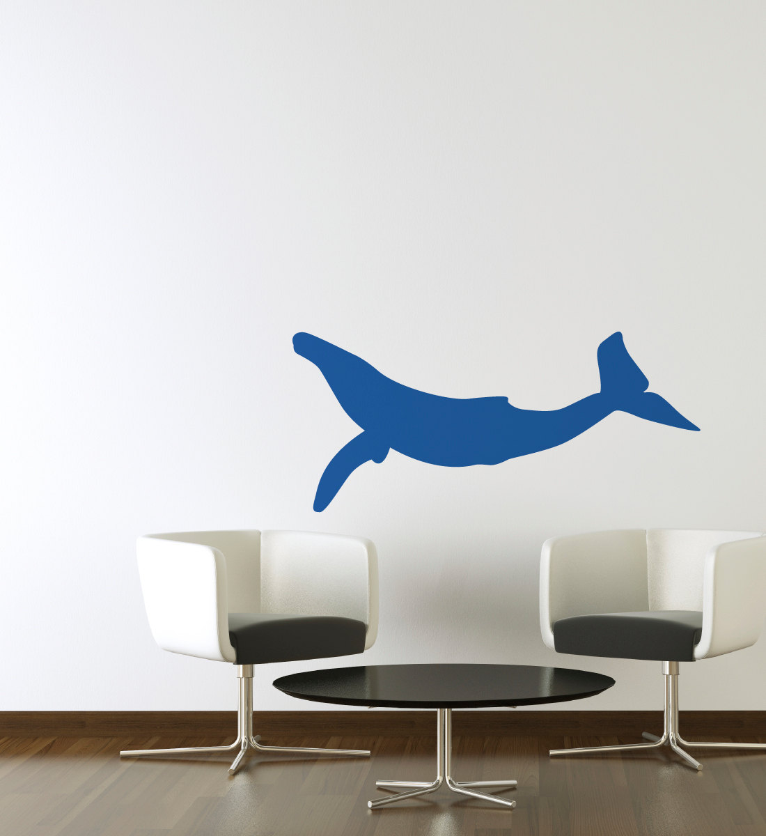 blue whale silhouette cut vinyl decal 27