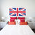 Large Union Jack British Flag Wall Decal