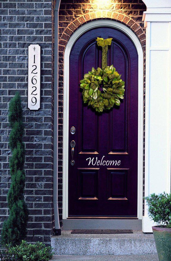Welcome Decal for your Front Door