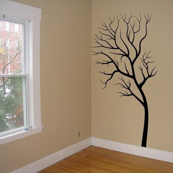 Symmetry Tree Large Vinyl Wall Graphic