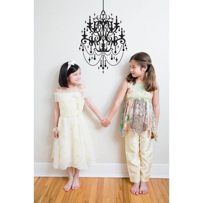 Classic Chandelier Wall Decal
