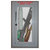 """Zombie Emergency Kit Wall Decal - 26"""" tall x 15"""" wide"""